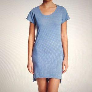 Alternative Apparel T-Shirt dress dusk blue size S